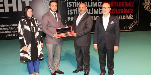 AK Parti Osmangazi şehit ve gazileri unutmadı