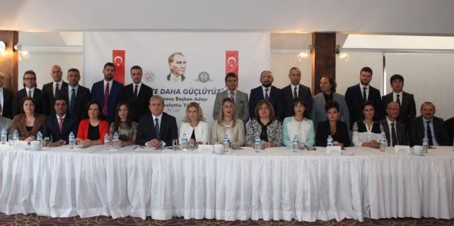 Bursa Barosu'na başkanlık adaylığını açıkladı