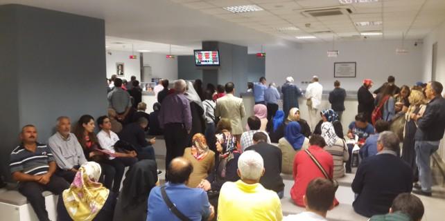 Bursa'da paso izdihamı