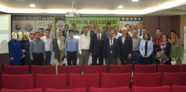 Gemlik'te zaman yönetimi semineri