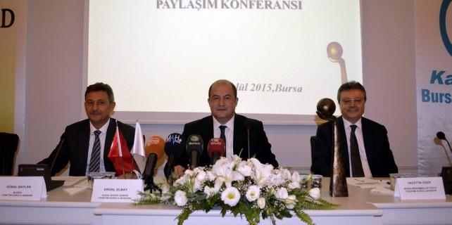 Bursa mükemmellik ödülü başvuruları başladı