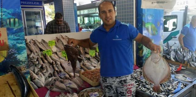 İşte kalkan balığının fiyatı...