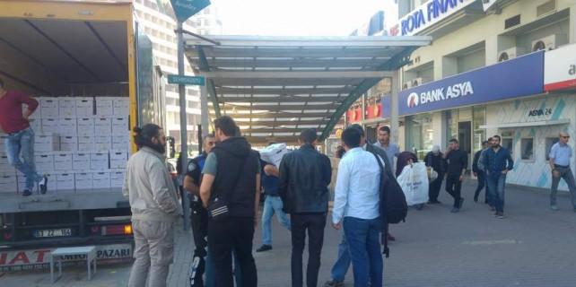 Bursa'da Bank Asya alarmı...