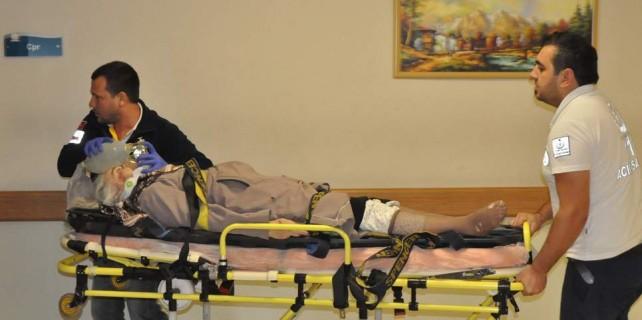 Bursa'da acı kaza...112 görevlisi çarptı ama kurtarılamadı