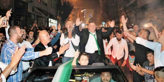Bursa'da görülmemiş doğum günü kutlaması...
