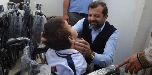 Bursa'dan mültecilere yardım eli...