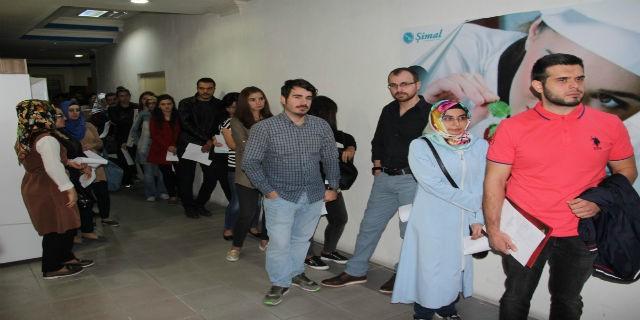 Bursa'da 11 kişilik kadroya 220 aday