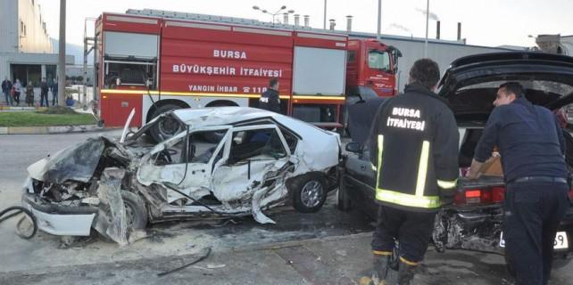 Kazadan sonra alev alev yandılar...