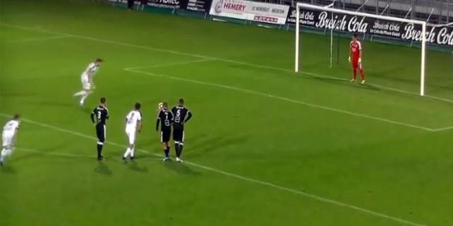 Futbol sahalarında böyle penaltı görülmedi