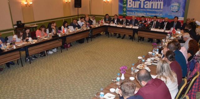 Dünya tarımının kalbi Bursa'da atacak
