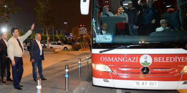 Osmangazi'den Ankara'ya demokrasi turları