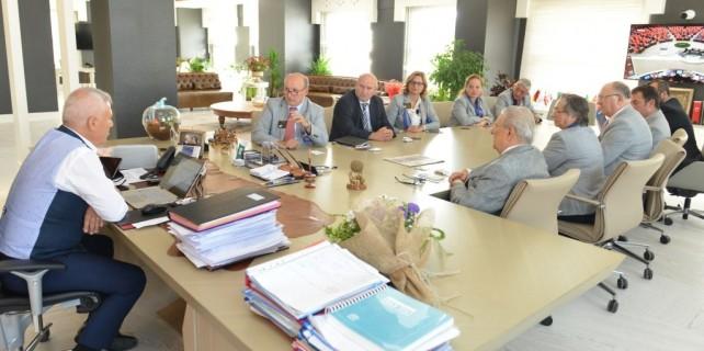 Rotary'den Bozbey'e ziyaret