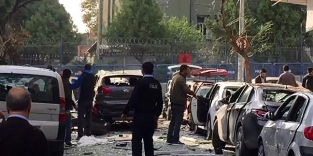 İstanbul'da şiddetli patlama!