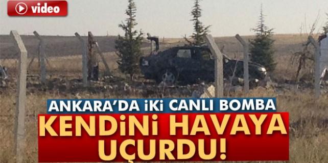 Ankara'da iki canlı bomba kendini havaya uçurdu