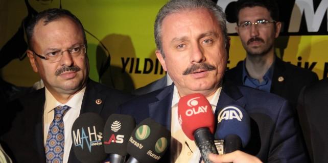 Anayasa Komisyonu Başkanı Şentop...Bursa'dan seslendi