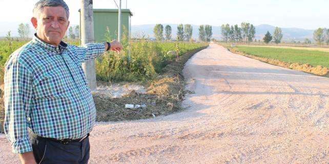 Bursa'da arazi yolları 24 yıl sonra yapılıyor...