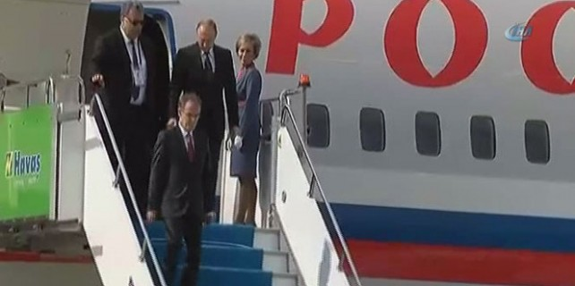 Vladimir Putin İstanbul'da!
