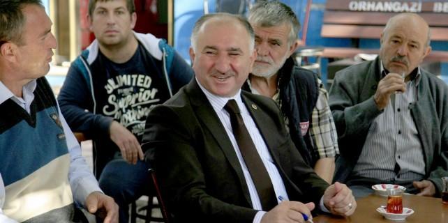 Başkan Çağlayan'dan Çakırlı'yı ziyaret