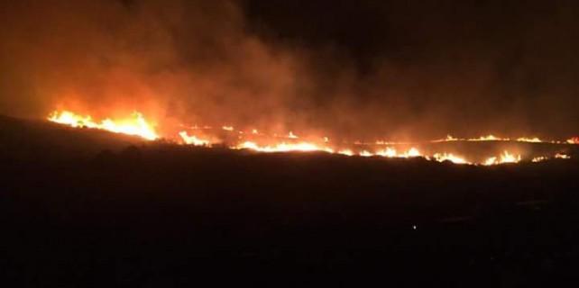 Mudanya'da büyük yangın