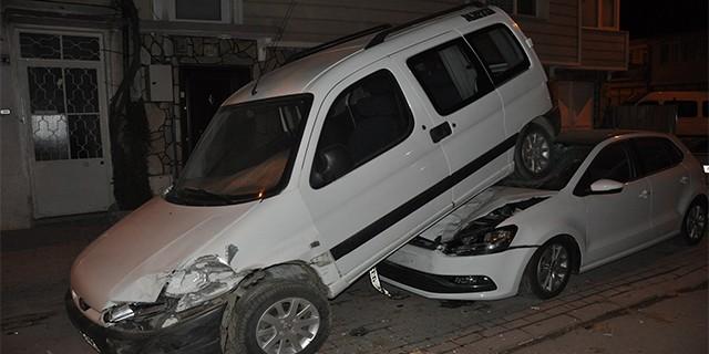 Bursa'da ilginç kaza!