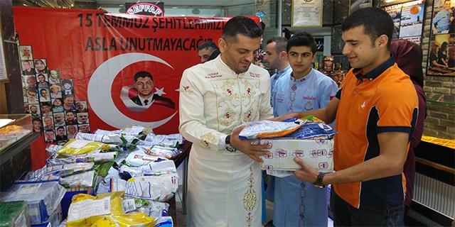 Erdoğan'ın dağıtacağı aşureye 81 ilden malzeme