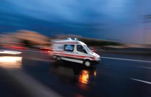 Bursa'daki kazada torunuyla can verdi