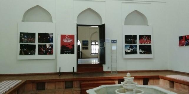 Bursa'da 15 Temmuz Milli İrade resim sergisi