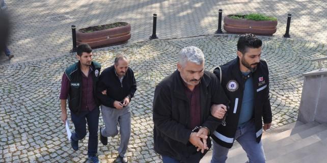 Bursa'da FETÖ'cü polis ve iş adamları adliyeye sevk edildi