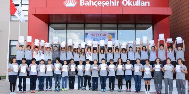 Bahçeşehir Okulları'nın büyük başarısı