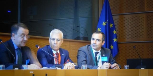 Bozbey Nilüfer İnovasyon Merkezi'ni Brüksel'de anlattı