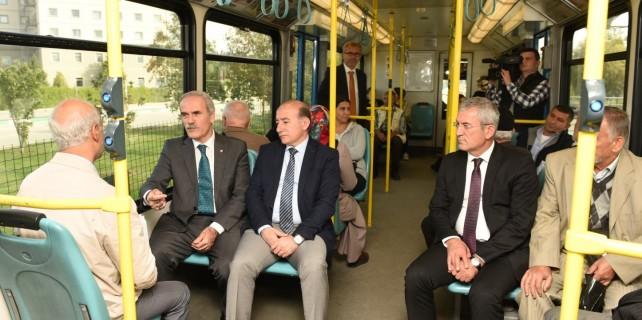 Başkan Altepe'den Bursalılara 'toplu ulaşım' çağrısı