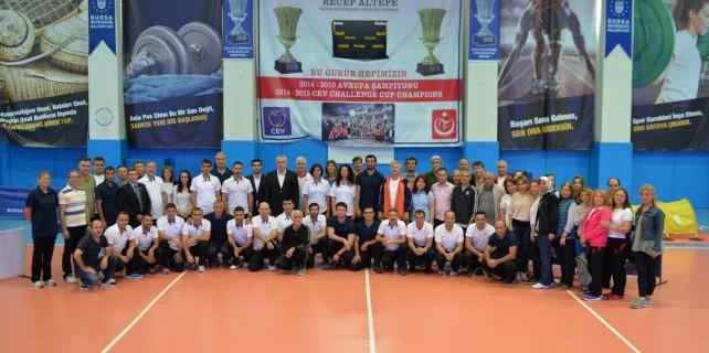 Bursa'da okul sporları başlıyor...