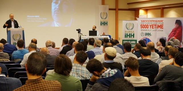 Bursa'dan Suriye'ye 400 yardım TIR'ı