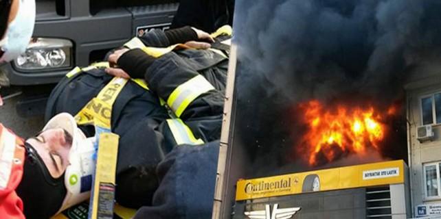 Bursa'daki yangında ölümden döndüler