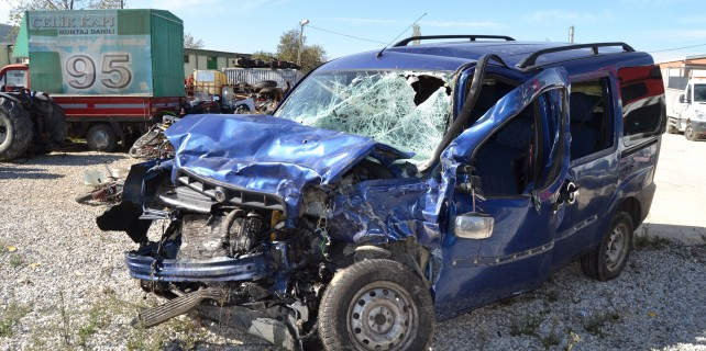 Bursa'da şok kaza!
