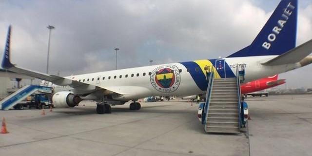 Fenerbahçe uçağında panik...Zorunlu iniş yaptı