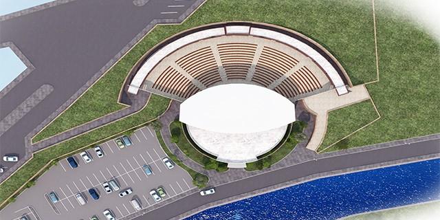 Bursa'nın açık hava tiyatrosu hazır