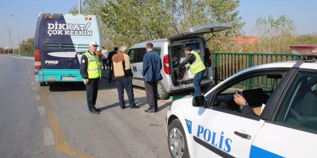 Bursa'da halk otobüslerine sıkı denetim