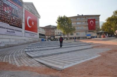 15 TEMMUZ DEMOKRASİ MEYDANI ERDOĞAN'I BEKLİYOR
