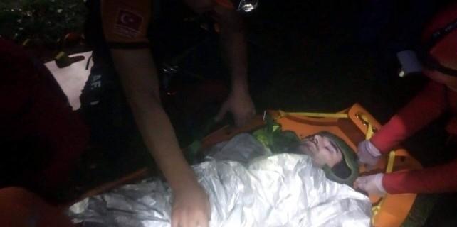 Bursa'da yamaç paraşütü kazası...
