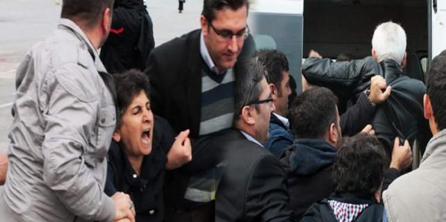 Bursa'da HDP'lilere gözaltı...