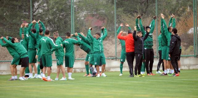 Bursaspor'da Konyaspor mesaisi