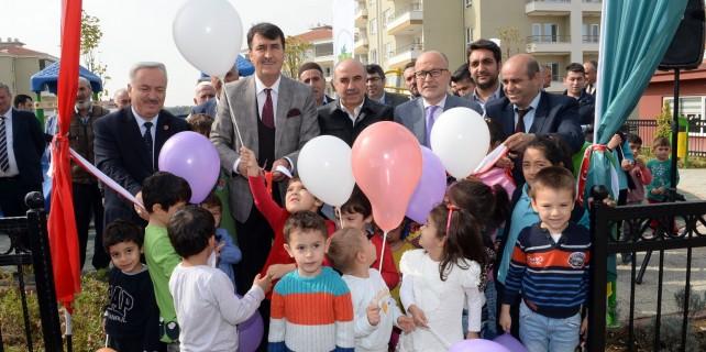Osmangazi'den çocuklara yeni park