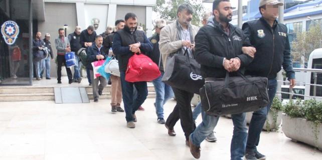 Bursa'da 15 polise ByLock tutuklaması...