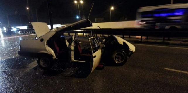 Bursa'da feci kaza... 2 ölü 3 yaralı