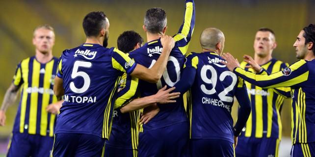 Fenerbahçe gol oldu yağdı...