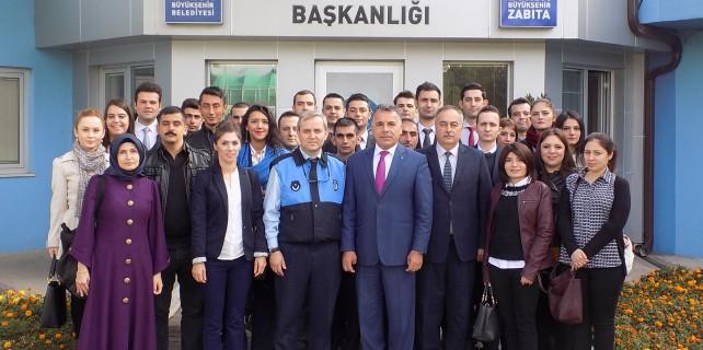 Zabıta'dan yeni personeline mesleki eğitimler
