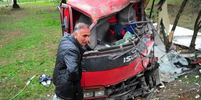 Bursa'da kaza acısı...2 ay önce baba olan çalışanını...