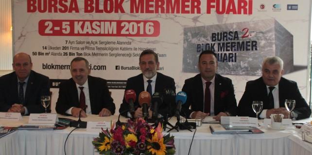 Bursa'daki fuar açılmadan içindekiler satıldı