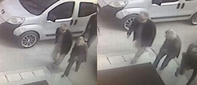 Bursa'da kapkaçcı kameraya böyle yakalandı